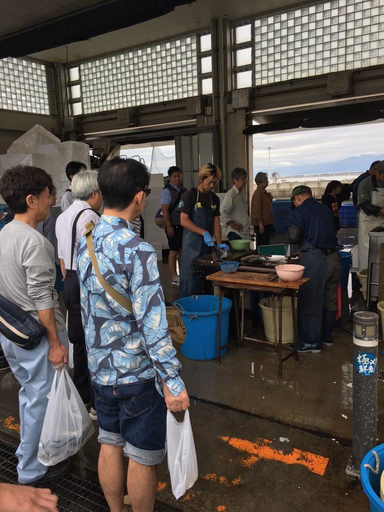 江の島漁協です。