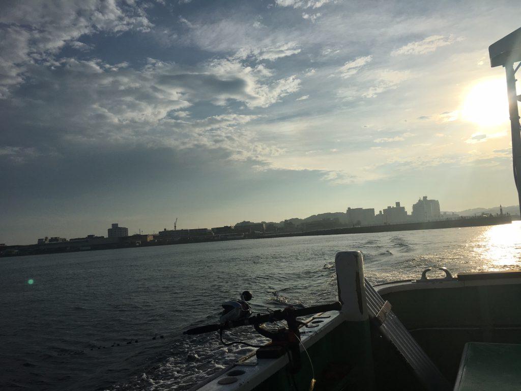 スルメイカ釣り